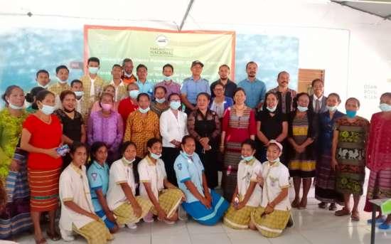 """O Projeto """"OSAN POVU NIAN, JERE HO DI'AK"""" e o Grupo das Mulheres Parlamentares de Timor-Leste organizam o Seminário """"Reforço do papel da Mulher no período pós-COVID"""""""