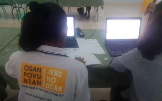 """PFMO """"OSAN POVU NIAN, JERE HO DI'AK"""" realiza o Seminário """"Processo de recolha e análise de dados - auditoria social"""" para a sociedade civil"""