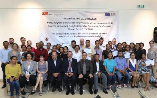 Seminário de Valorização - As Instituições Superiores de Controlo e o Estado de Direito Democrático