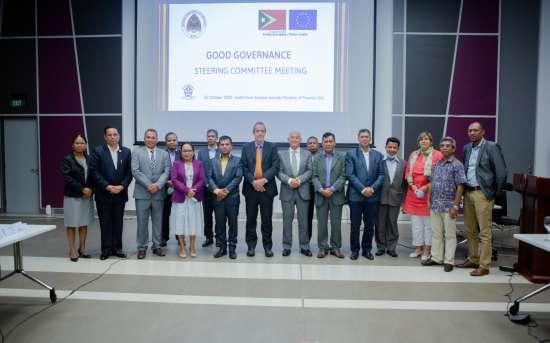 2.ª reunião anual do Comité Estratégico da Boa Governação