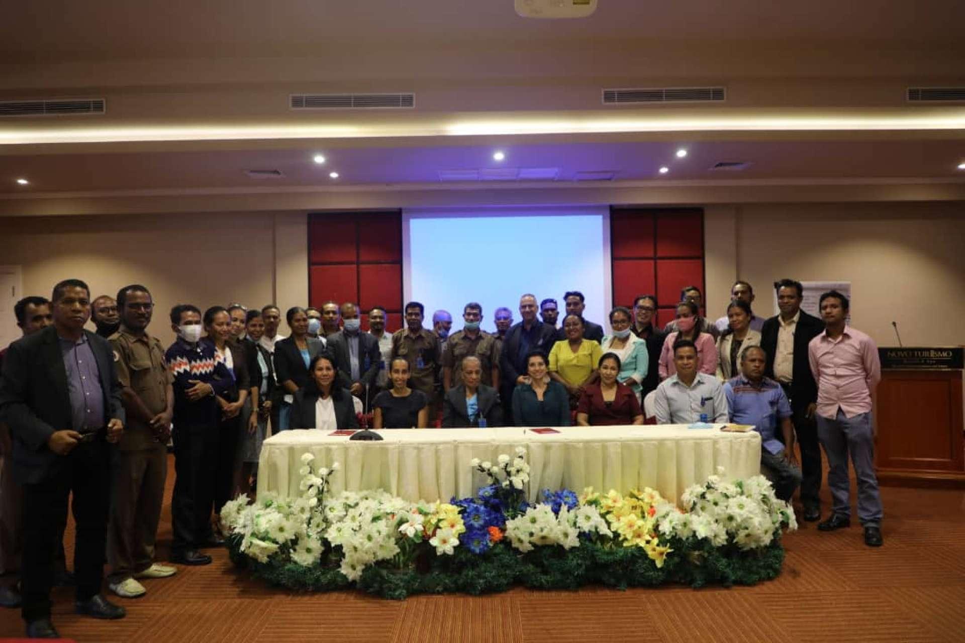 """PFMO """"OSAN POVU NIAN, JERE HO DI'AK"""" colabora como observador no Seminário """"Plano Estratégico da Inspeção Geral do Estado 2022-2027"""""""
