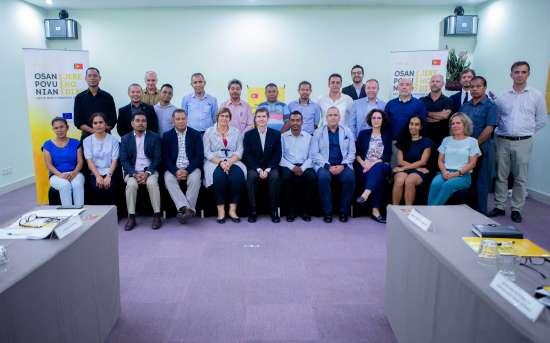 5ª Reunião do Comité de Coordenação Técnico do PFMO em Díli